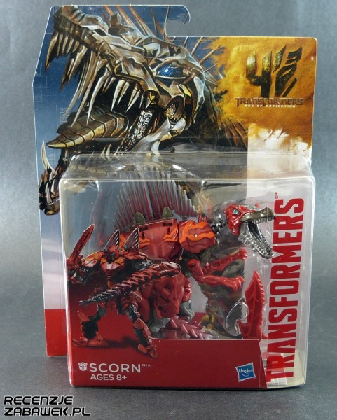 tf age of extinction generations deluxe scorn pudełko