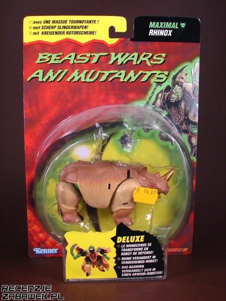 tf beast wars deluxe rhinox pudełko