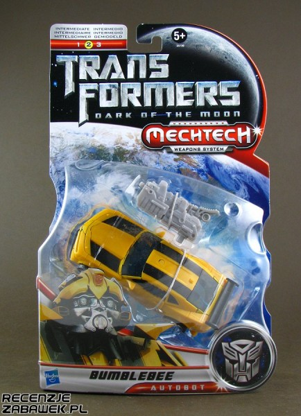 tf dark of the moon deluxe bumblebee pudełko