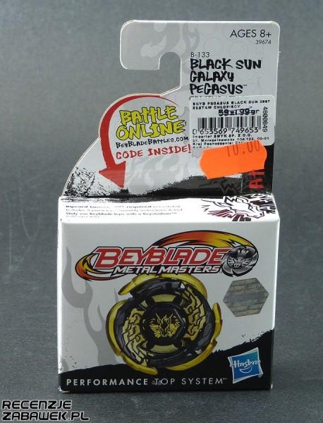 beyblade black sun galaxy pegazus pudełko