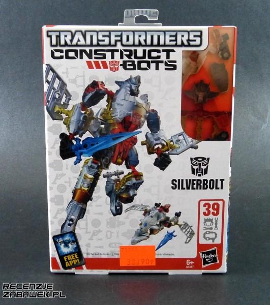 tf construct-bot silverbolt pudełko