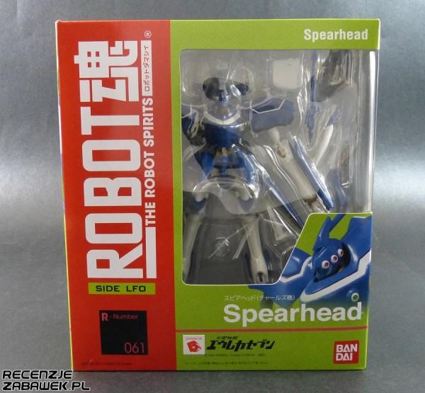 robot spirits spearhead pudełko