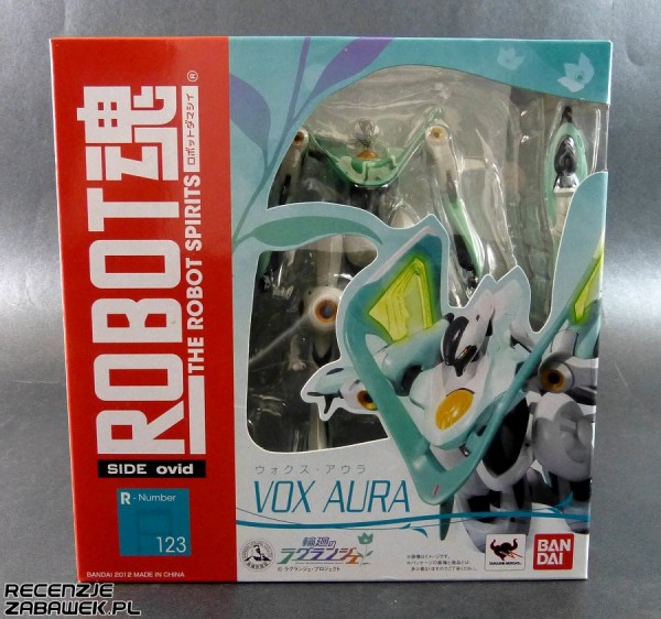 robot spirits vox aura pudełko