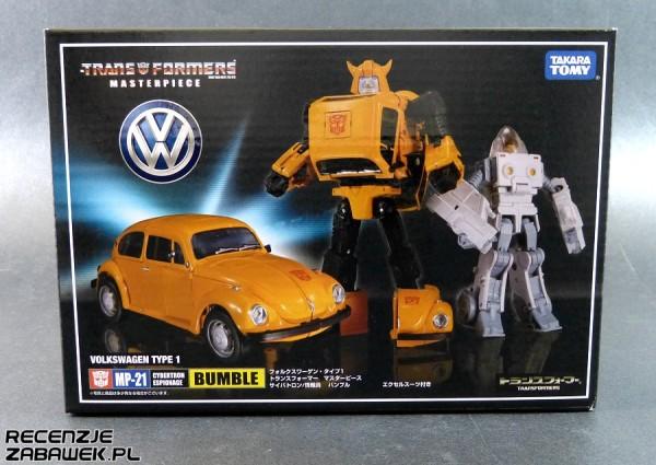 tf mp bumblebee pudełko