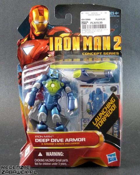 iron man 2 iron man deep dive armor pudełko