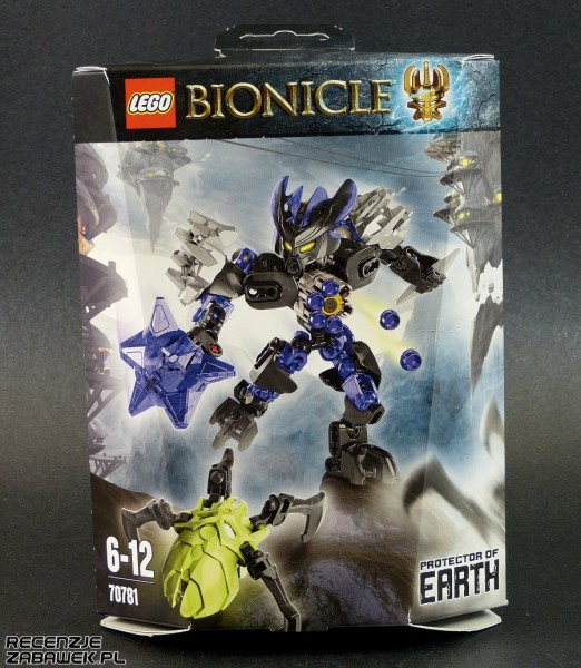 lego bionicle protector of earth pudełko