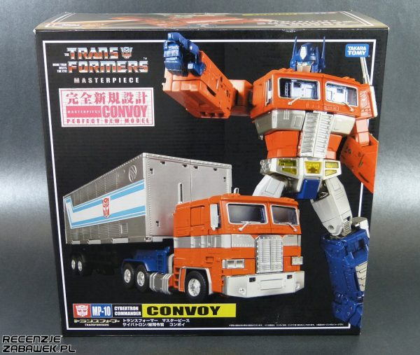 mp-10 optimus prime pudełko