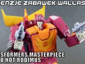 transformers masterpiece mp-28 Hot Rodimus rzw opis