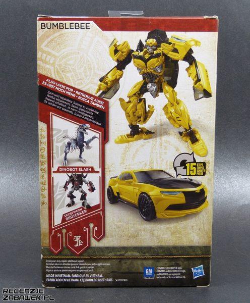 tf last knight bumblebee pudełko B
